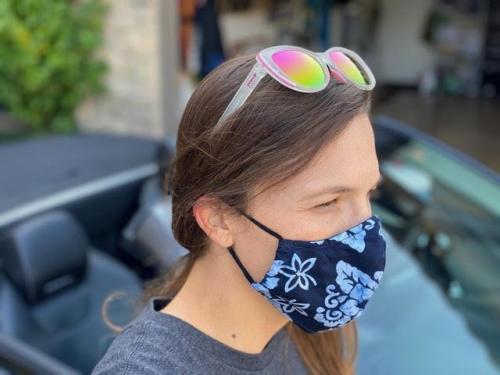 9000-E assorted masks light side elastic